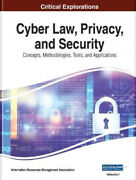 Cyber Law Privacy And Security Concepts Methodologies Tools And