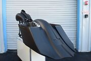 7 Stretched Saddlebag No Cut Out/rear Fender For All Hd Touring Models 2014-up