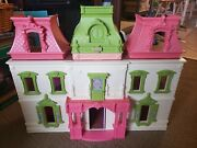 Fisher Price Loving Family Dream Dollhouse 2012 Lights And Sound Dollhouse Only