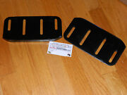 Craftsman Agri-fab Skid Shoe Runner Plate 24279 Tractor Snow Blower Thrower Qty2