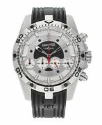 Eberhard And Co. Chrono 4 Automatic 46mm Stainless Steel Men's Watch 31060