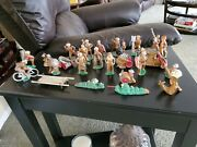 Vintage Wwi Barclay Manoil Lead Metal Toy Soldier Lot Of 24