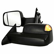 Towing Mirrors For 2012 Dodge Ram 2500/3500 [power/heated] Premium Fx