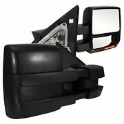 Towing Mirrors For 2009-2010 Ford F-150 [power/heated] Premium Fx