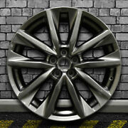 Hyper Bright Smoked Silver Full Face Factory Wheel For 16-17 Mazda Cx-9 - 20x8.5