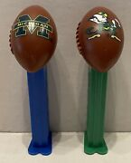 Pez Dispensers-collegiate Football-university Of Michigan And Notre Dame-loose