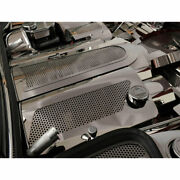 Replacement Fuel Rail Covers For 1997-2004 Chevy Corvette [stainless/perforated]