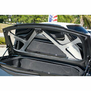 Trunk Lid Plate Brushed Brace Cover For 2014-19 Corvette Convertible [polished]