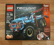 Lego Technic 42070 6x6 All Terrain Tow Truck Power Functions New In Sealed Box