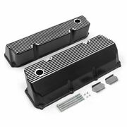 Speedmasters Pce314108805 Finned Valve Covers Tall For Ford 302 351c Cleveland