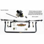 Global West St5964gs Power Steering Conversion And Bump Steer Kit For 59-64 Impala