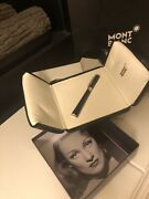Fountain Pen Marlene Dietrich Special Edition 2007 Limited 18k 750 F/s