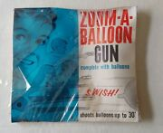 Vintage Tigrett Toy Zoom-a-balloon Shoots 30and039 Sealed Old Stock