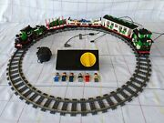 Lego 10173 Holiday Christmas Train - Rare - Includes 9-volt Electric Train Kit