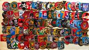 Combo 100 Patches Airborne Lrrp Recon Usn Pbr Arvn Usafussf S