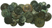 Forvm Lot Of 32 Roman Coins - Includes Scarcer Later Rulers 80 - 450 A.d.