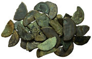 Forvm Lot Of 33 Cut And Broken Roman Bronze Coins From Spain