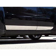 4pc. Luxury Fx Chrome 4.33and039 Rocker Panel Molding Fit For 2006-2011 Chevy Hhr