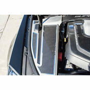 Fender Covers Carbon Fiber Inlay 4p For 06-15 Cadillac Cts-v [stainless/brushed]