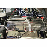 Plenum Cover For 2011-15 Challenger/charger/300/grand Cherokee Srt8 [perforated]