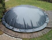 Inflatable Pool Cover Round 48oz/m Andsup2 Individual Production