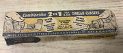 Vintage Snap - On Tools Corp Combo 2 In 1 Thread Chasers Tdc-3 Vtg Old Box
