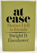 At Ease Stories I Tell To Friends Dwight D. Eisenhower Signed 1st Ed