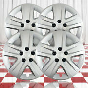 17 Screw-on Silver Hubcaps For 2010-2011 Chevy Impala Qty Four