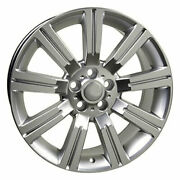22 Hyper Silver Wheel Fit For Land Rover - Stormer Style Rim