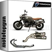 Termignoni Full System Exhaust High Nocat Conical Steel Hom Bmw Ninety 2016 16