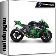 Termignoni Full System Exhaust Relevance Carbon Racing Kawasaki Zx-10r 2014 14