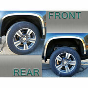 Stainless Steel Wheel Well Accent Trim 4p Fits 2015-2020 Chevy Colorado