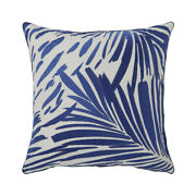Baie By Yves Delorme, 100 Linen Decorative Pillow With Embroidery