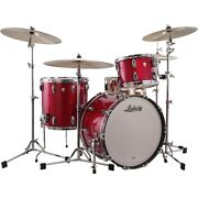 Ludwig Classic Maple 3-piece Fab Shell Pack With 22 In. Bass Drum Red Sparkle