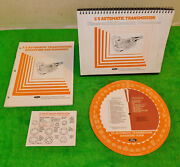 82-86 Ford Mercury Lincoln Nos C5 Transmission Diagnosis Manual Card Guide Books
