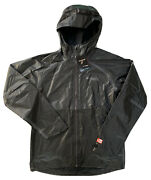 Columbia Mens Titanium Outdry Extreme Weatherproof Zip Jacket Gray Xo2505 M 2xl