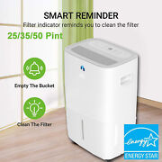 Jhs Energy Star 25/35/50 Pints Portable Dehumidifiers For Home Basements Bedroom