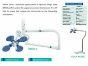 Surgical Operation Lamp Ot Orion 4 Single Dome Ceiling Mounted Wall Mount Led