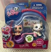 Littlest Pet Shop Prized Pets Husky Dog And Kitty Cat 1817 1818 New In Box