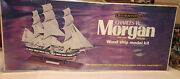 Scientific Wooden Model Ship Kits Of Charles W Morgan Whaler, 17.5 Inches Long