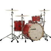 Sonor Sq1 3-piece Shell Pack With 20 In. Bass Drum Hot Rod Red