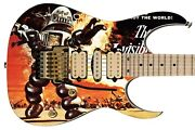 Guitar Skin Axe Wrap The Invisible Boy Old Poster Vibe Right Electric 248