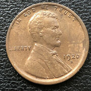 1920 D Wheat Penny Lincoln Cent 1c High Grade 31576