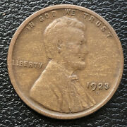 1923 S Wheat Penny Lincoln Cent 1c Higher Grade 31658