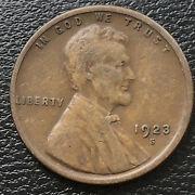 1923 S Wheat Penny Lincoln Cent 1c Higher Grade 31659