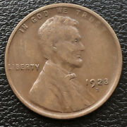 1923 S Wheat Penny Lincoln Cent 1c Higher Grade 31664