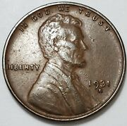 6 Extremely Fine++ To Ch/au Low Mintage 1931 D Lincoln Wheat Cent