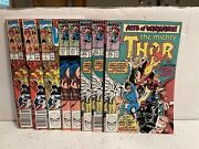 Thor 411 And 412 Marvel 1989 1st New Warriors