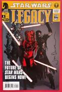 Star Wars Legacy 2006 1 - First Printing - Signed Comic Book - Dark Horse