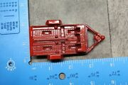 Vintage 1969 Tootsie Toy Red Motorcycle Trailer 98c